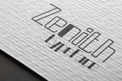 Zenith typeface