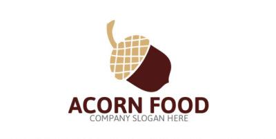 Acorn Logo Template
