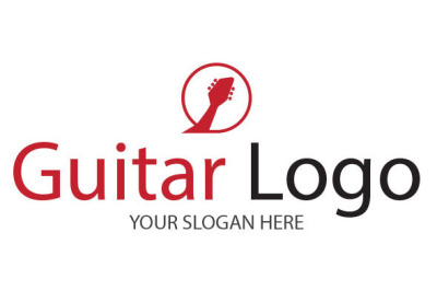 Guitar Logo Template