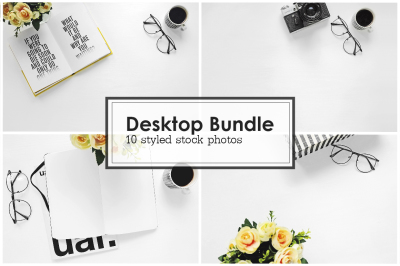 Styled Stock Photo | Desktop Bundle