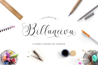 Billaneiva Typeface