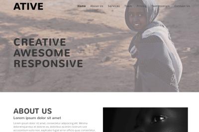 Ative - Creative Responsive Template