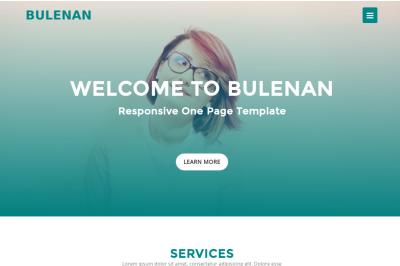Bulenan - Responsive One Template