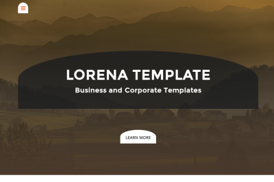Lorena - Business & Corporate Template