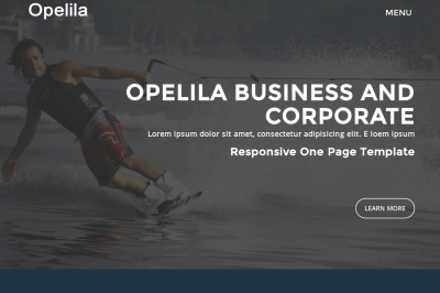 Opelila - Business And Corporate HTML