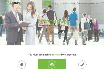 Sendas - Responsive Creative Template