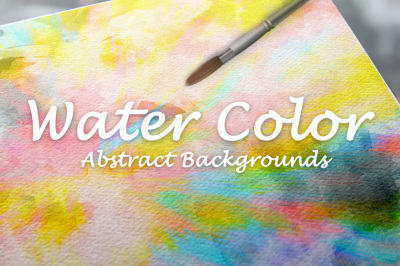 10 Watercolor abstract backgrounds