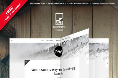 FlipBook Magazine Wordpress Theme Flipgo