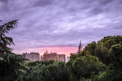 Sunset on Madrid