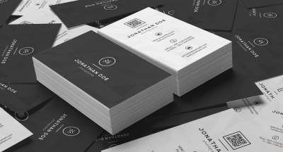 Clean Minimal Business Card