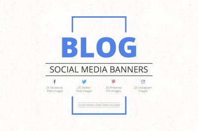 Blog Social Media Banners