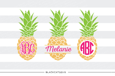 Pineapples SVG