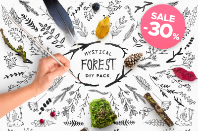 Mystical Forest DIY + Big Bonus