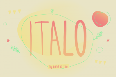 Italo *6 styles*