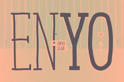 Enyo Slab *6 styles*