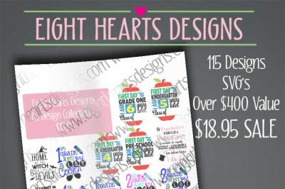 Over 115 Designs Collection Pack Value Deal Bundle
