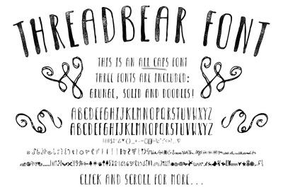 Threadbear Font