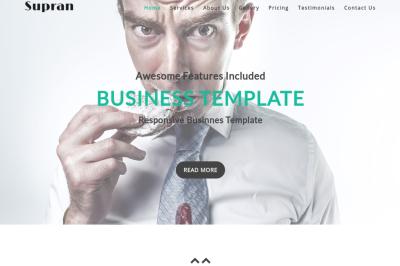 Supran - Creative Responsive Template