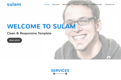 Sulam - Clean & Responsive Template