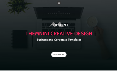 Themini - Creative Design Template