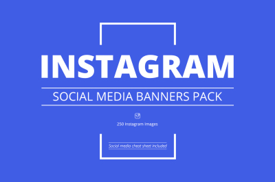 Instagram Social Media Banners Pack
