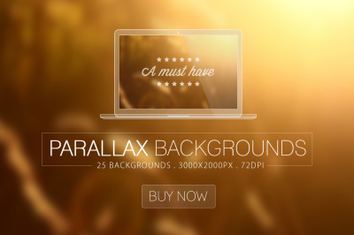 Parallax Blurred Backgrounds Vol.1