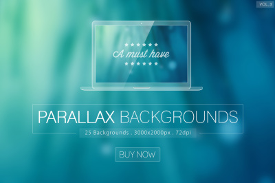 Parallax Blurred Backgrounds Vol.3