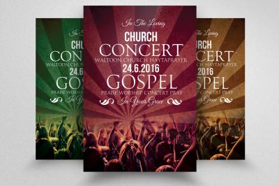 Church Flyer Templates