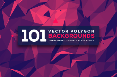 101 Vector Geometric Backgrounds