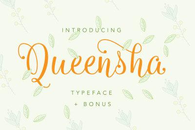 Queensha Typeface