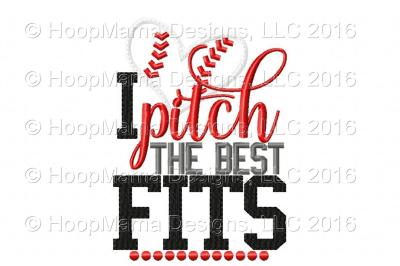 I Pitch The Best Fits