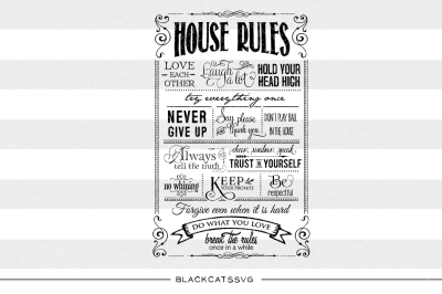 House rules - SVG