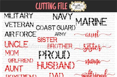 Military Word Bundle