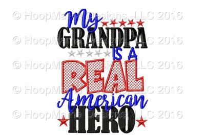 My Grandpa Is A Real American Hero