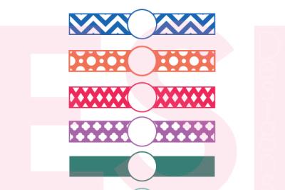 38+ Turkey Monogram Designs – Chevron Pattern – Svg, Dxf, Eps Cutting Files SVG