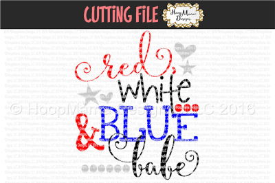 Red White And Blue Babe