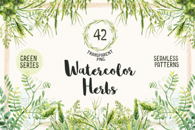 Watercolor Herbs Vol.2