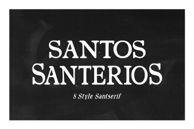 Santerios & Santos 70%off