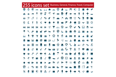 255 different icons