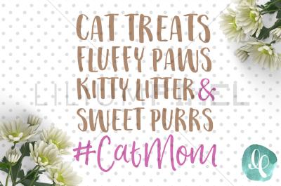 Cat Mom / Girl