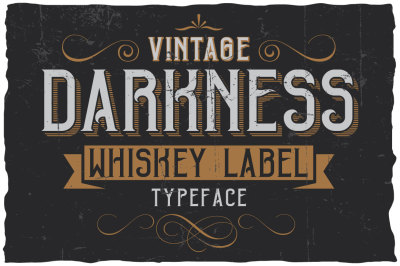 Vintage Darkness Label Font