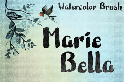 Marie Bella Brush Font
