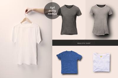 Realistic Shirt Mockups
