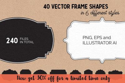 40 Frame Shapes (Volume 1)