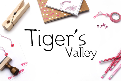 Tiger's Valley Handwritten