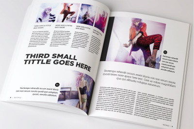 Des7gn Magazine Indesign Template