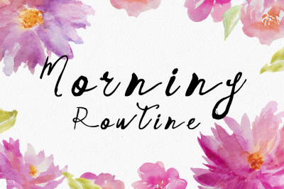 Morning Routine Script Hand