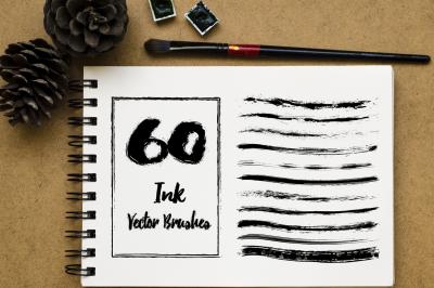 60 Grunge Brushes