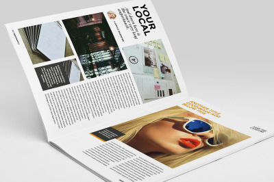 Des12gn Magazine Indesign Template