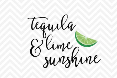 Tequila Lime & Sunshine Summer